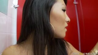 Asa Akira gives a free blowjob and fucking lesson