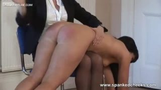 Witness To A Spanking