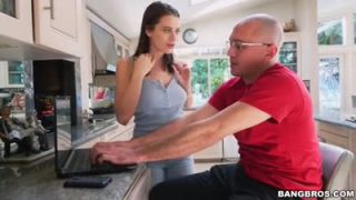 Lana Rhoades is fucked by a house intruder