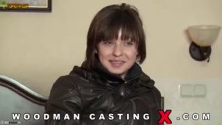 Woodman casting with nasty Russian teen