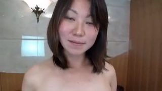 Pregnant Asian whore getting fisted