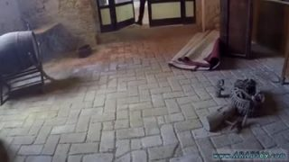 Syrian chick sucking dick for shelter