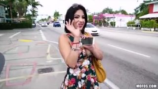 Kitty Caprice picked up and fucked on the street