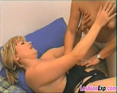 Huge dildo and a lesbian party sex galore