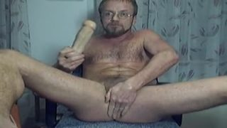 I am having a hot self cum eating sex!