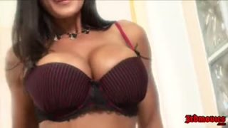 Busty Lisa Ann takes a fat cock in her pussy