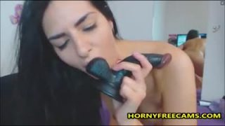 Big ass beauty enjoys deep doggy anal