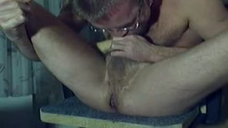 Me sucking my cock and fucking my hot man-pussy to cum!