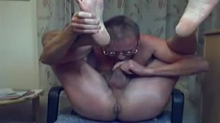 I am sucking my cock and banging my hot man-pussy!